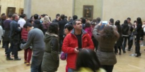 crowds at the Mona Lisa, The Louvre, Paris, 151122, (c) AsPerceived
