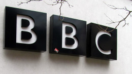 BBC sign on building