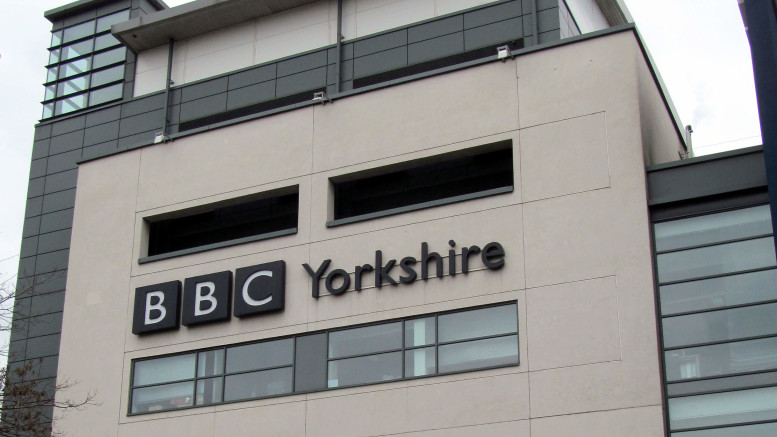 The BBC's regional headquarters in Leeds, Yorkshire