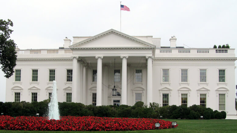 The White House in Washington DC.